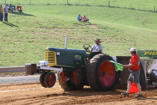 Antique Pulling from Buchanan Virginia