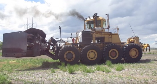 Melroe M870 Buffalo Coal Dozer